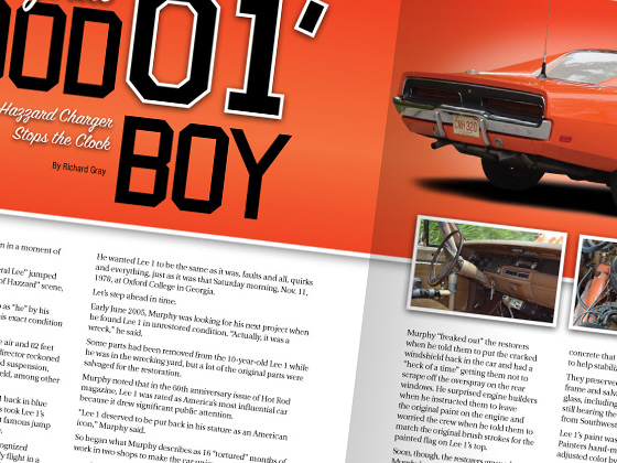 Barrett-Jackson Catalog Layout Design