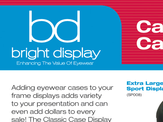 Bright Display Identity - Sales Sheets, Rack Card, Business Card, Website