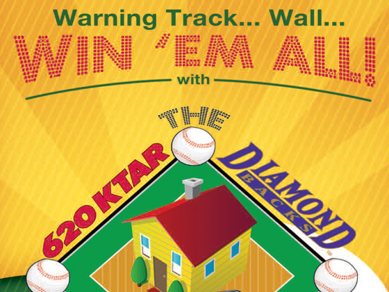 620 KTAR / Arizona Diamondbacks HomeRun Makeover Brochure