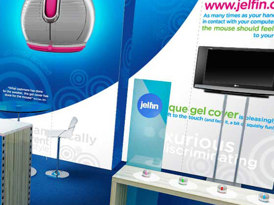 Jelfin 20x10ft Trade Show Booth Design