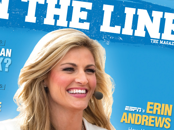 On The Line Magazine Cover Design